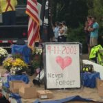 never forget 9-11 float